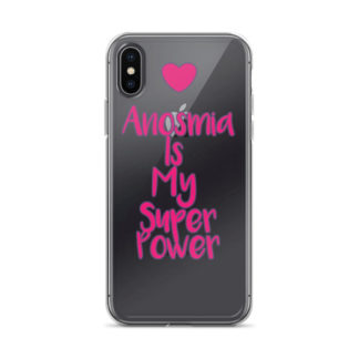 Anosmia Is My Superpower Iphone Case