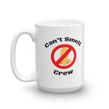 Cant Smell Crew Official Logo Mug Front