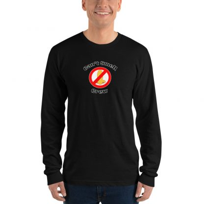 Cant Smell Crew Official Logo Long Sleeve T Shirt Black